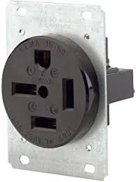 NEMA 15-50R Wall Outlet