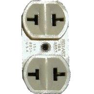 NEMA 2-15R T-Slot Outlet
