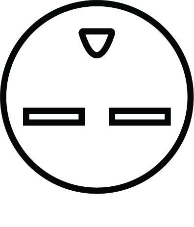 NEMA 6-15R Pin Layout