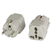 Photo of Adapter European Schuko CEE7/7 M to Universal F 16A 250V BLACK