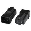 Photo of Adapter IEC60320 C20 Plug To NEMA 5-15/20R T-SLOT Connector Black